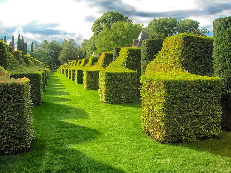 4. Gardens of Eyrignac Manor - Dordogne, France