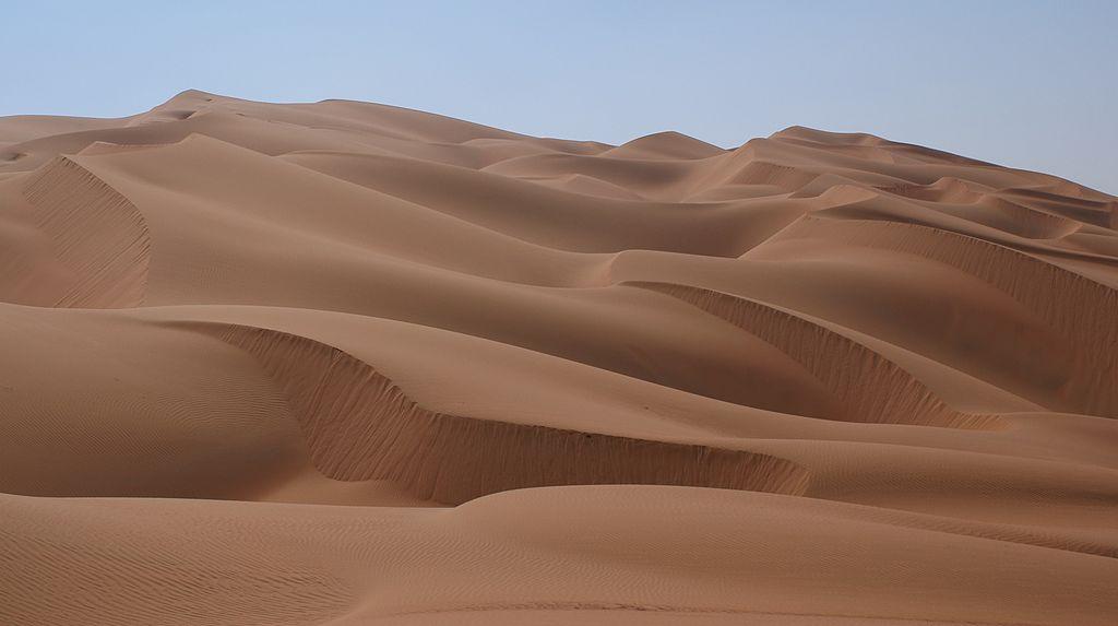 4. Rub' al-Khali - 2.330.000 km2