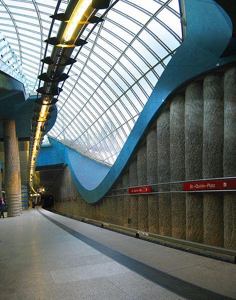 4. St. Quirin Platz Station, Munich