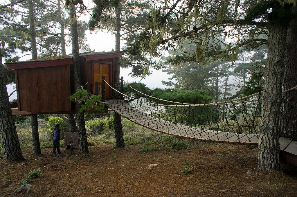 4. Treebones Resort - Big Sur, USA