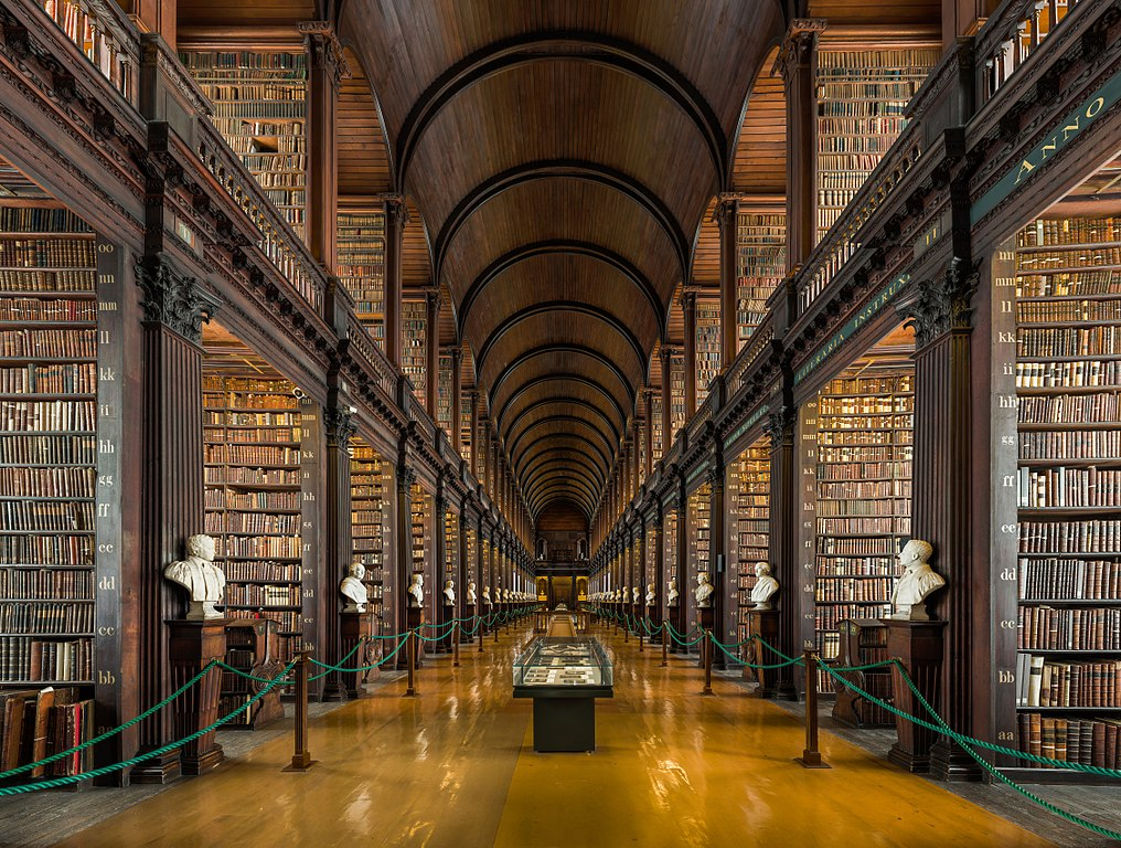 4. Trinity College Old Library, Dublin, Republic of Ireland