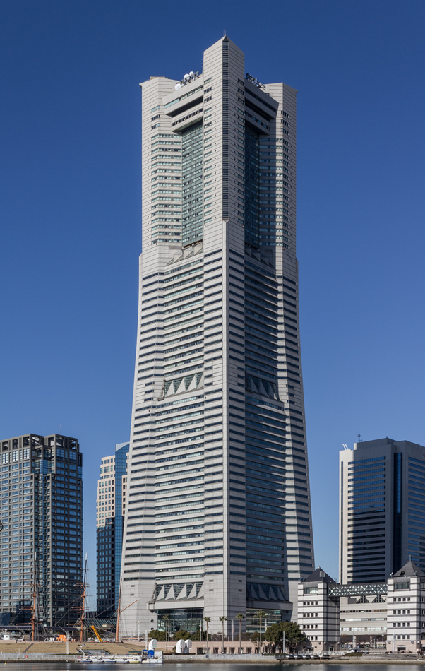 4. Yokohama Landmark Tower, Yokohama, Japan