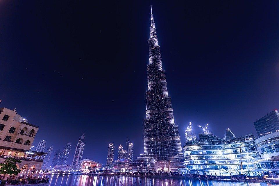 5. Burj Khalifa, Dubai, United Arab Emirates