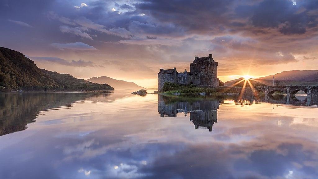 5. Eilean Donan, Scotland
