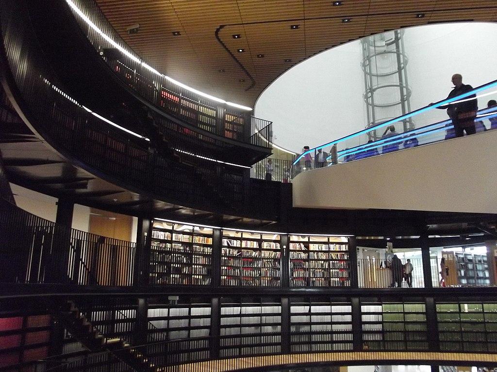 5. Library of Birmingham, UK