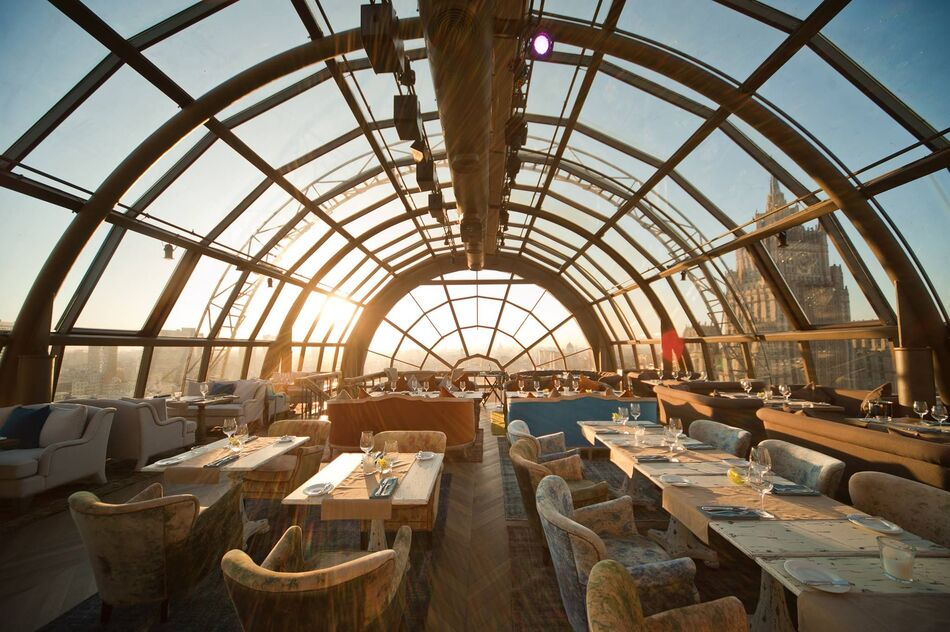 5. White Rabbit Restaurant & Bar, Moscow, Russia