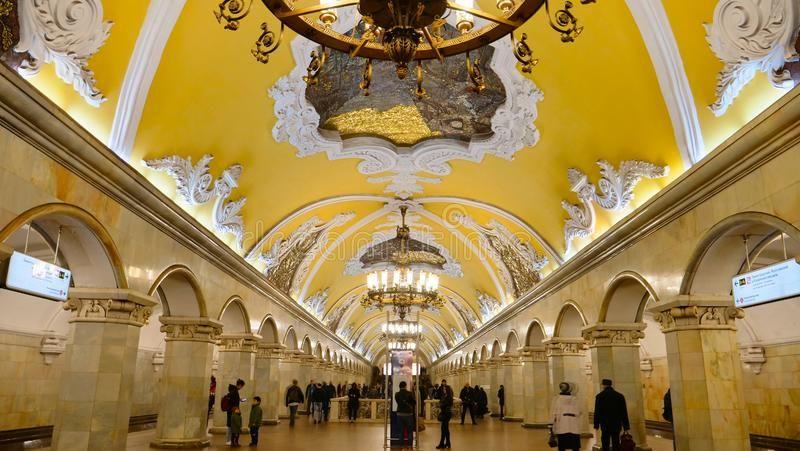 6. Komsomolskaya, Mosca
