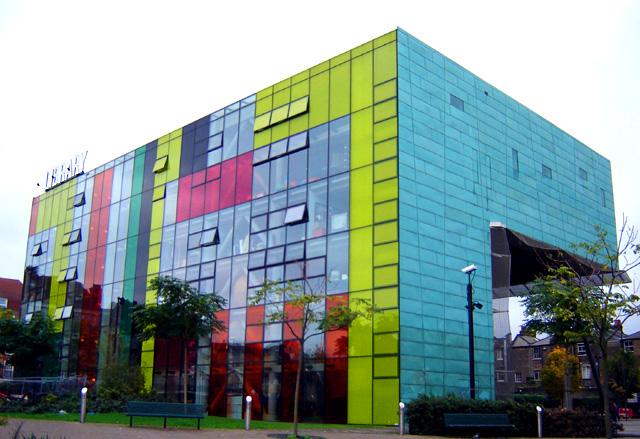 6. Peckham Library, London, United Kingdom