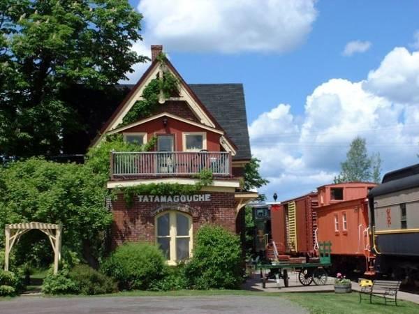 6. Train Station Inn - Tatamagouche, Canada