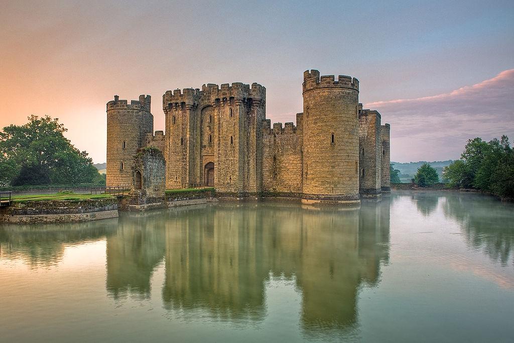 7. Bodiam Castle, England