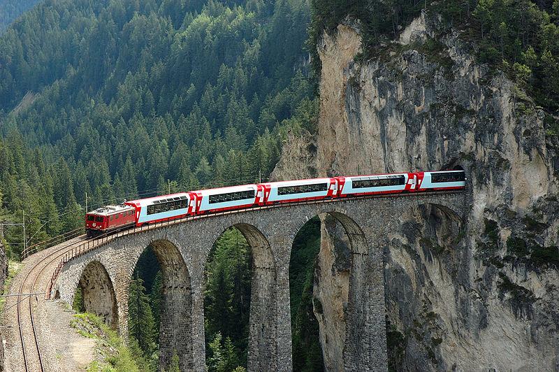 7. Glacier Express (Switzerland)