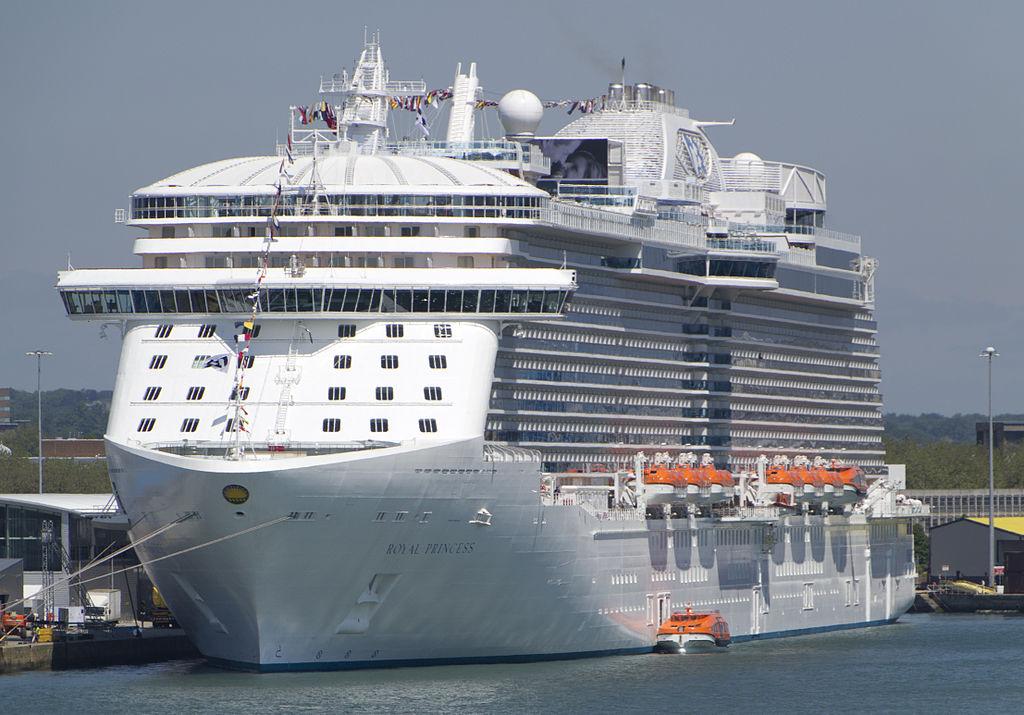 7. Royal Princess - Princess Cruises