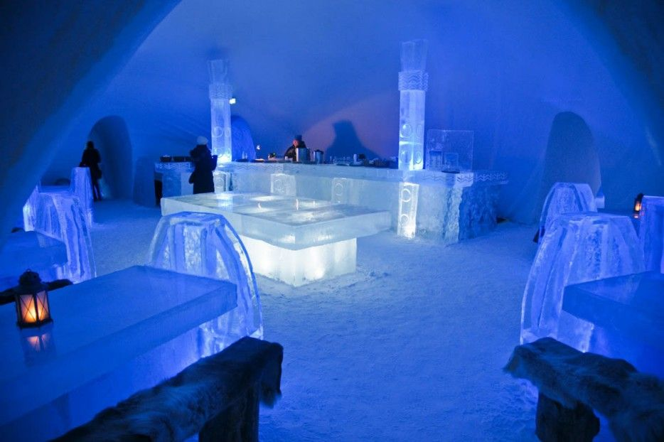 7. The Ice Bar, Quebec City, Canada
