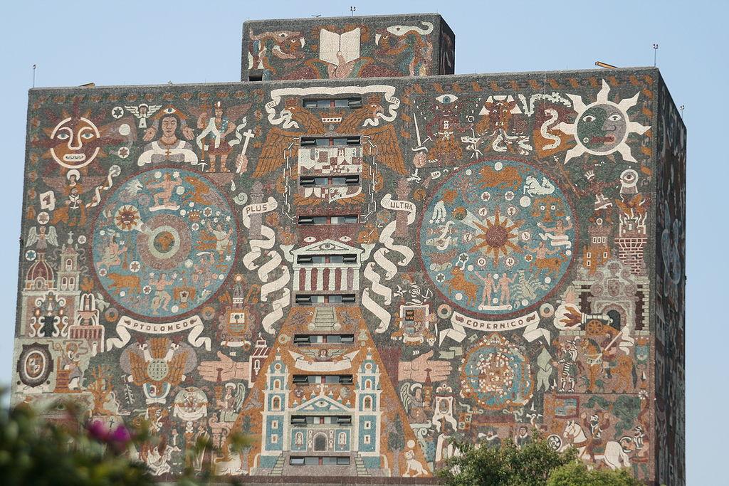 7. UNAM Central Library of Mexico City, Mexico
