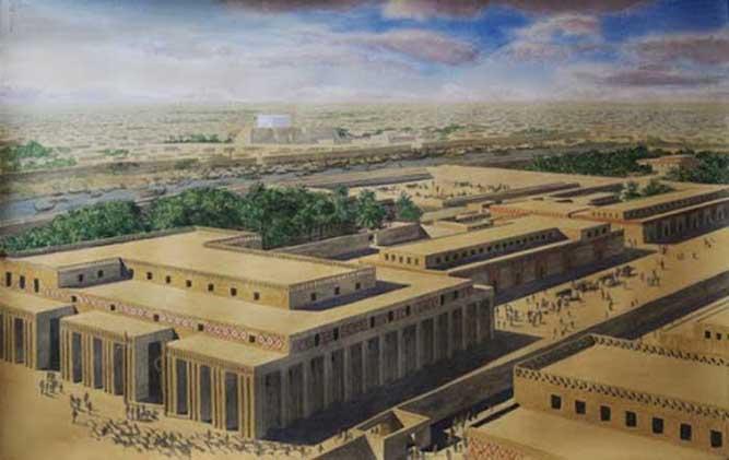 7. Uruk (today's Warka, Mesopotamia)