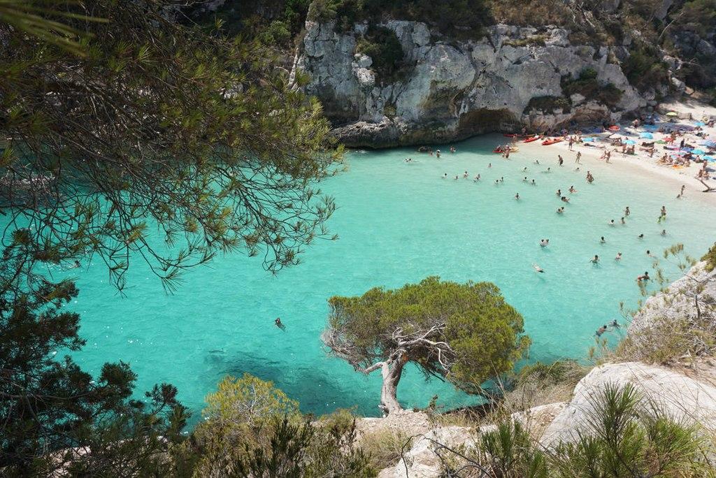 8. Cala Macarelleta, Menorca, Spain
