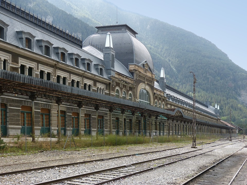 8. Canfranc Railway Station, France