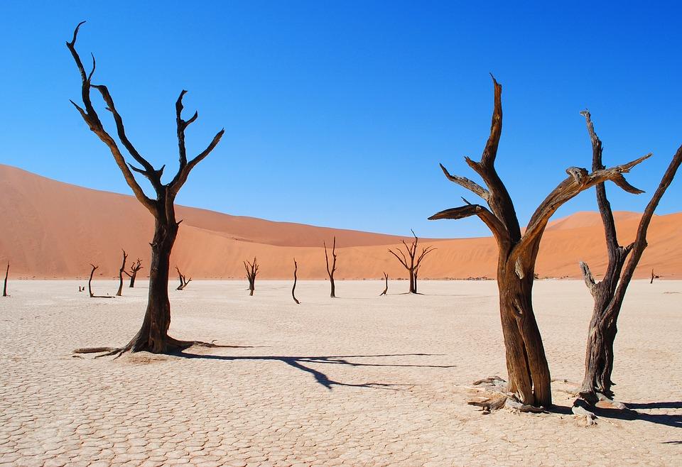 8. Namib Desert - Namibia, Angola and South African Republic