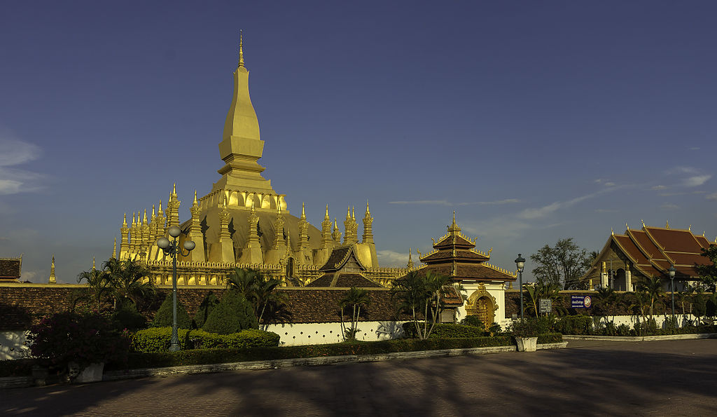 8. Pha That Luang, Republic of Laos
