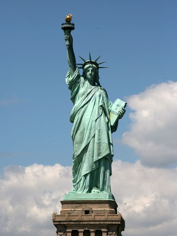 8. Statue of Liberty, USA - 93 meters