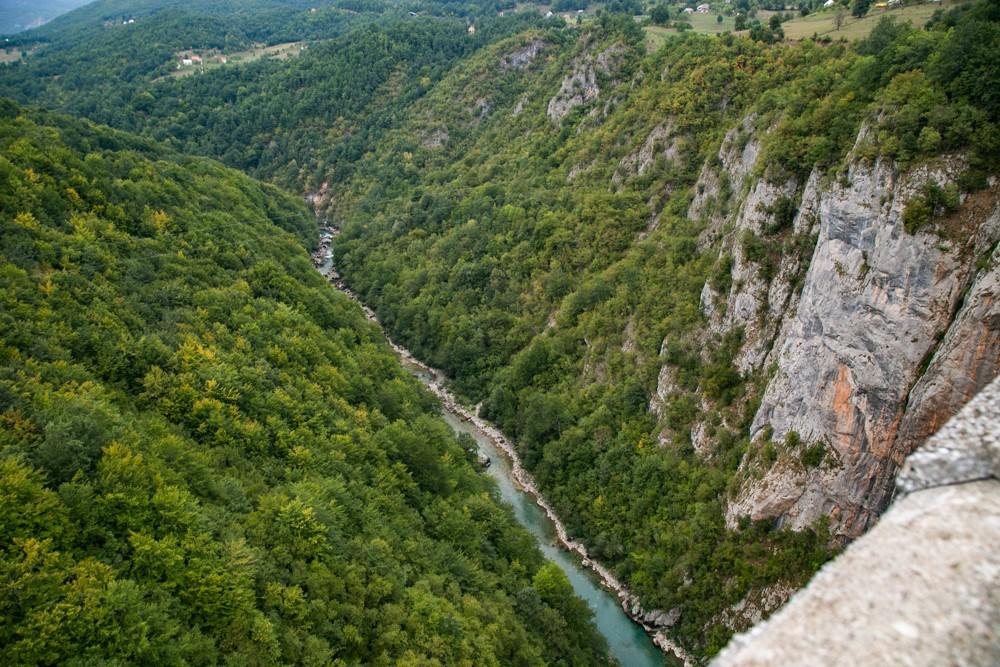 8. Tara River Canyon, 1300 meters