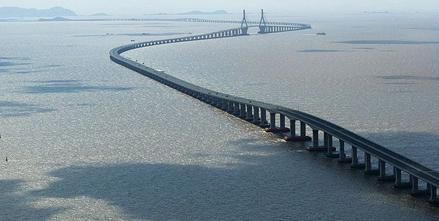 9. Hangzhou Bay Bridge