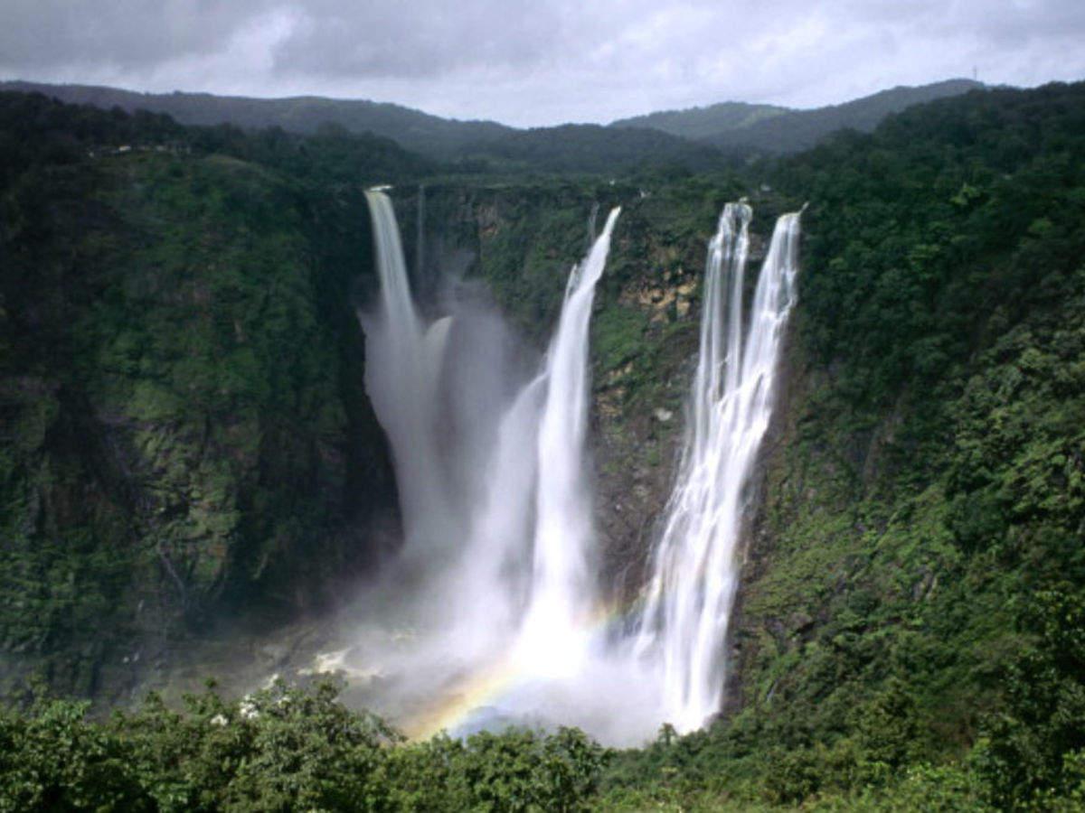 9. Jog Falls, India