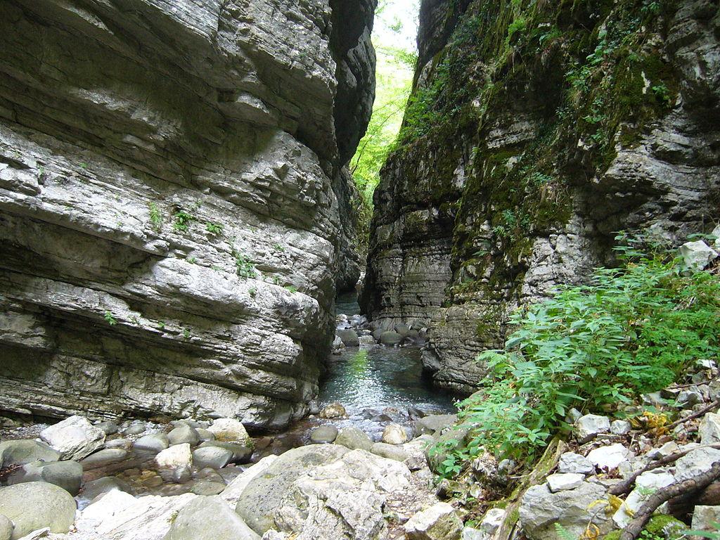 9. Ravine of Botri