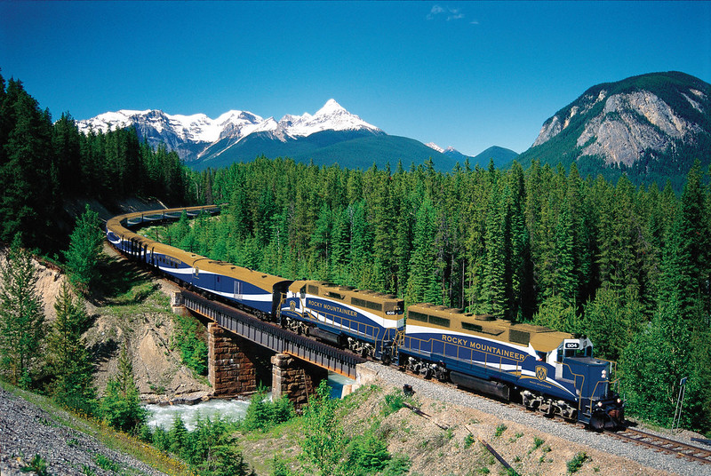 9. Rocky Mountaineer (Canada)
