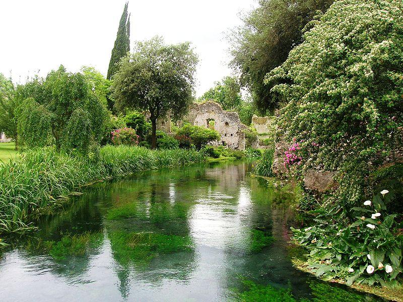 9. The Garden of Ninfa - Latina, Italy