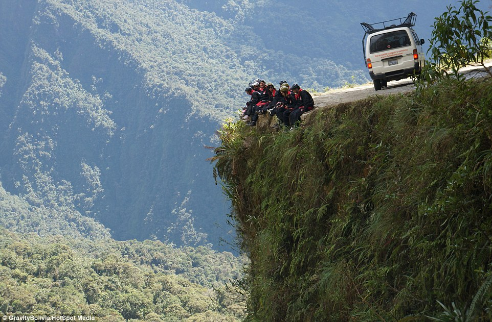 9. The Path of Death - the Most Dangerous Road in the World, Bolivia