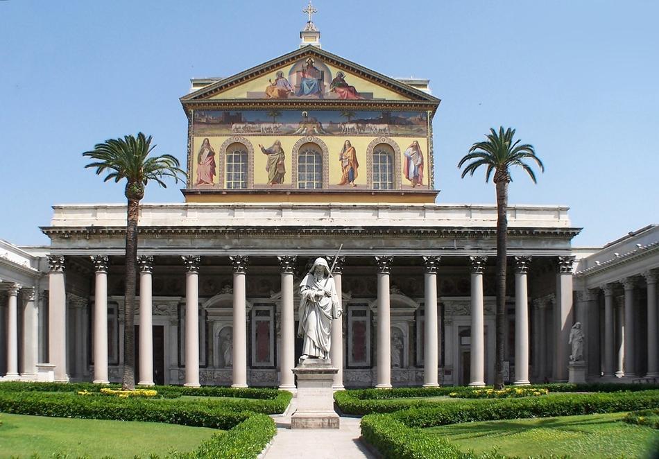 1. Basilica of St. Paul Outside the Walls