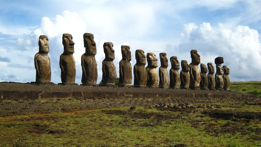 1. Easter Island, Chile