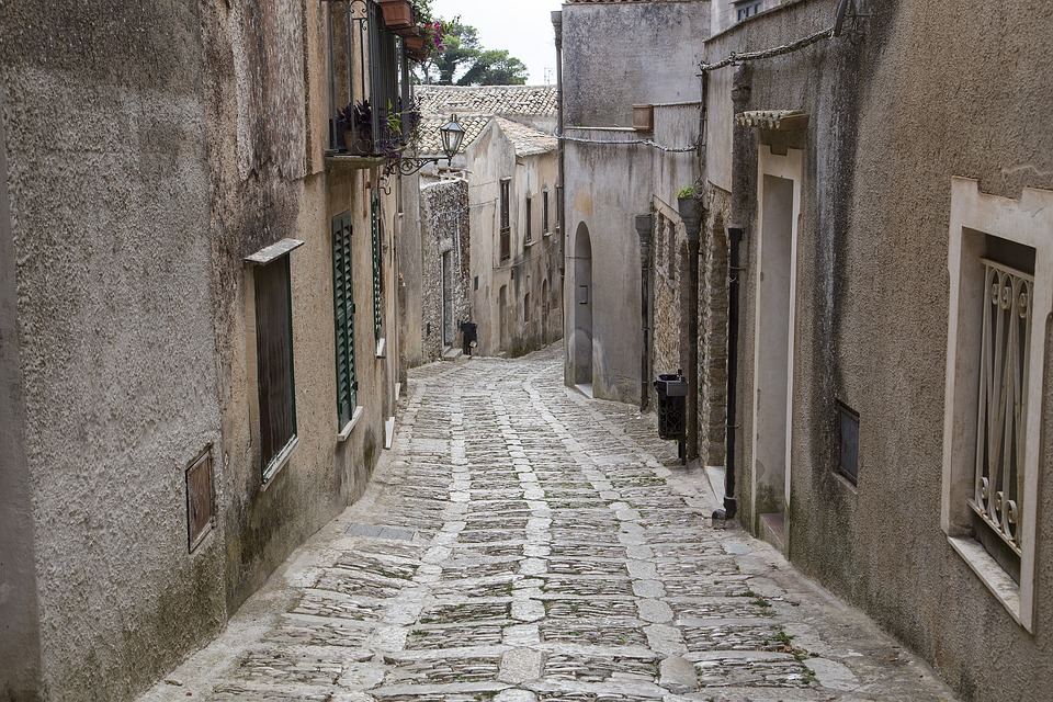 1. Erice, the Province of Trapani, Sicily