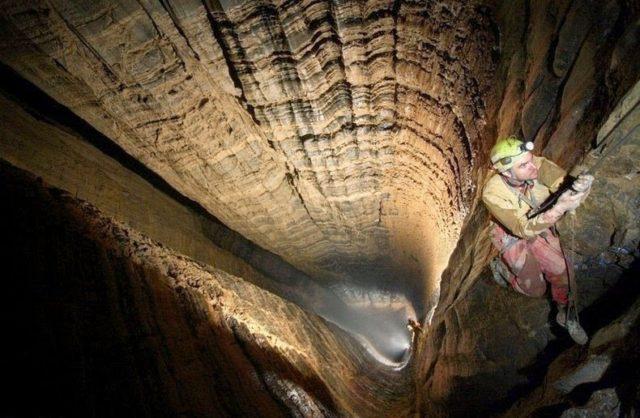 1. Krubera Cave, Abkhazia, Georgia