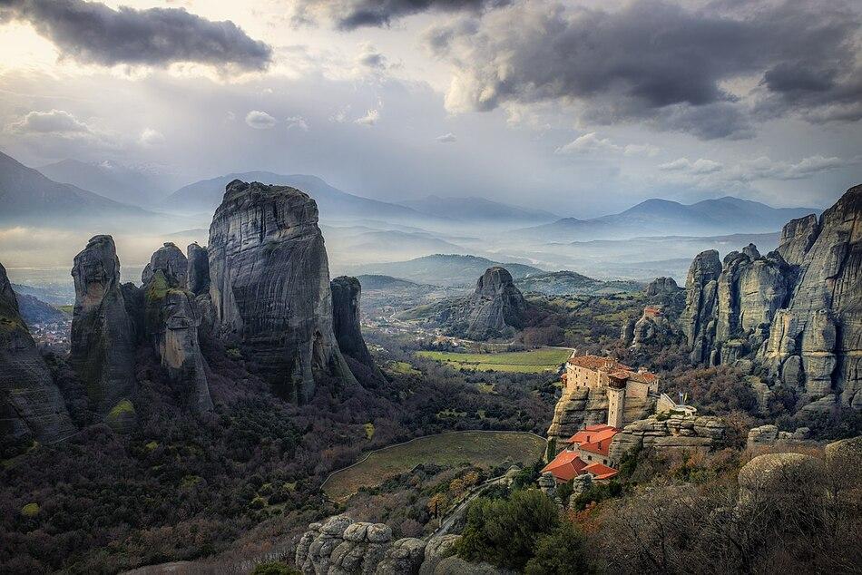 1. Metéora - Greece