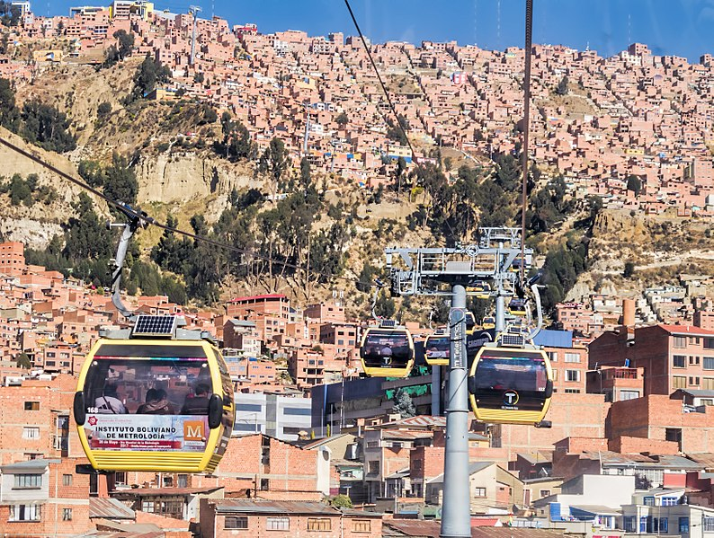1. My Cable Car - La Paz, Bolivia