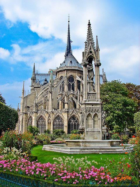 1. Notre-Dame Cathedral - Paris, France