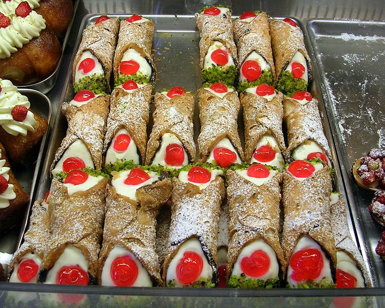 1. The Sicilian Cannoli