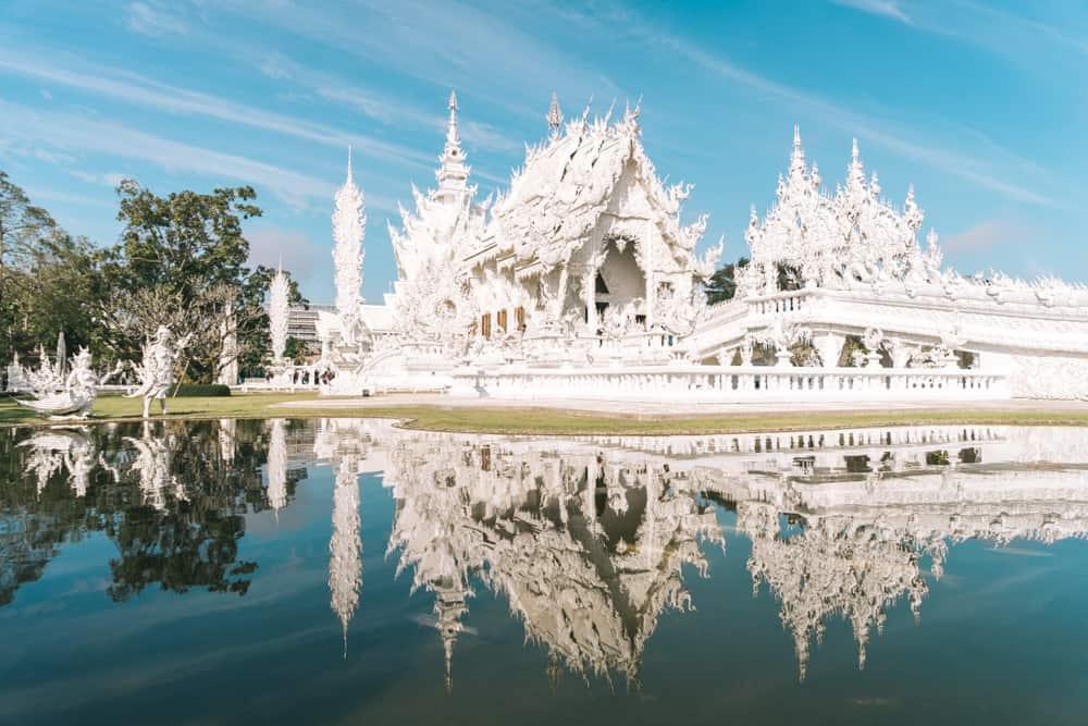 1. White Temple - Chiang Rai, Thailand
