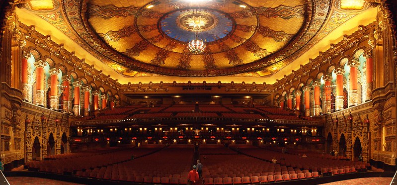 10. Fox Theater - Detroit, USA