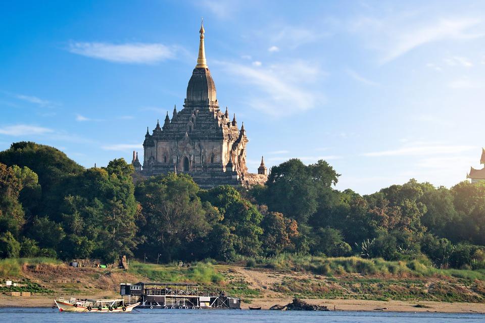 10. Gawdawpalin Temple - Bagan, Myanmar