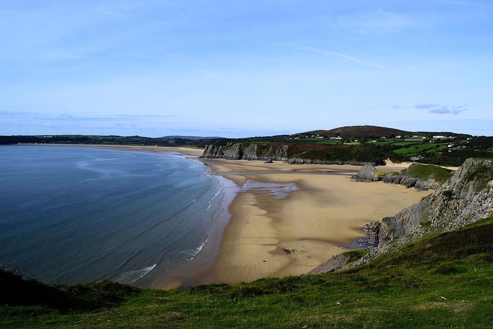 10. Rhossili Bay, Swansea, United Kingdom