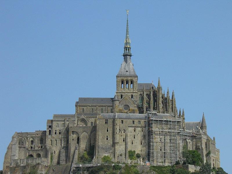 12 - Abbey of Mont Saint-Michel - France