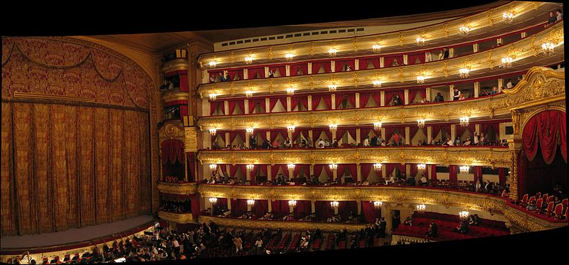 12. Bolshoi Theater - Moscow, Russia