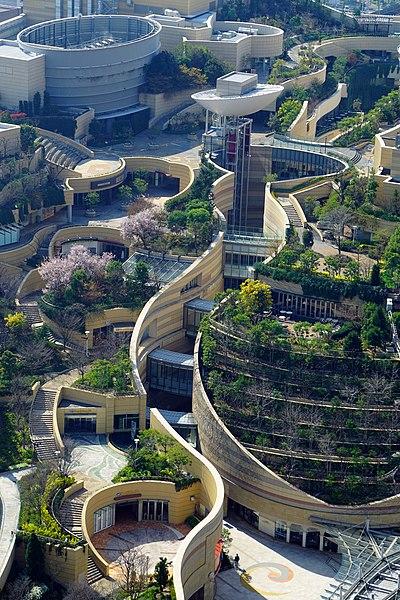 12. Namba Parks - Osaka, Japan