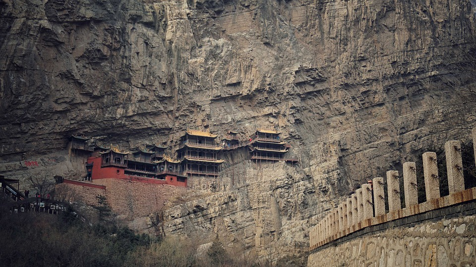 12. The Hanging Temple - Datong, China