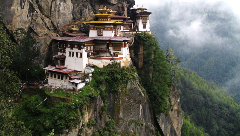 14. Taktsang or Tiger's Nest - Bhutan