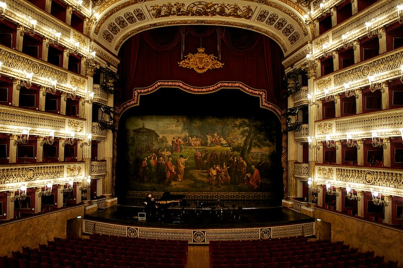 15. San Carlo Theater - Naples, Italy