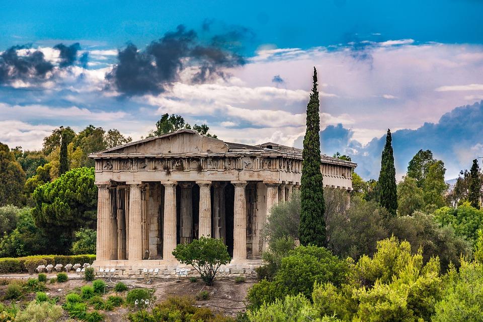 15. Temple of Hephaestus - Athens, Greece